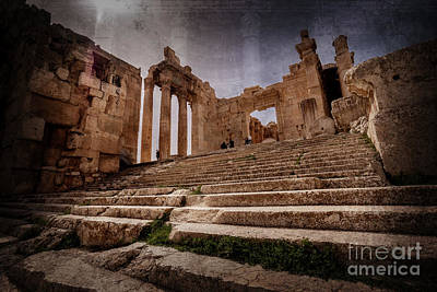Photograph - Temple Of Bacchus by Naoki Takyo