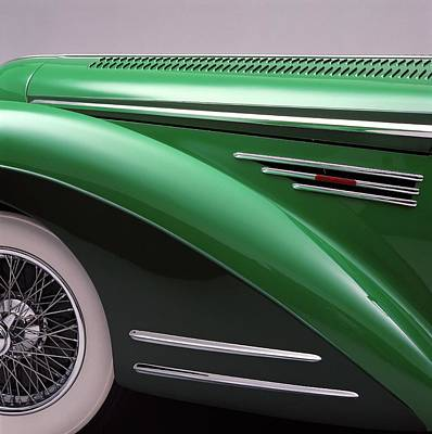Photograph - The 1948 Delahaye 135 Ms Vedette Is A by Car Culture