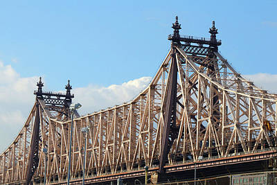 Photograph - The 59th Street Bridge by Cate Franklyn