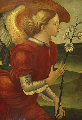Painting - The Archangel Gabriel by Luca Signorelli
