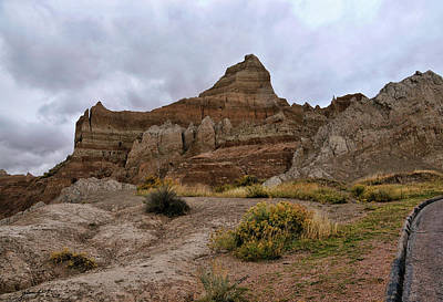 Photograph - The Badlands South Dakota United States Of America by Gerlinde Keating - Galleria GK Keating Associates Inc