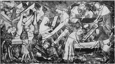 The Black Death Art Print by Hulton Archive