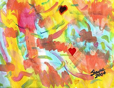 Painting - The Dance Of Spring by Susan Schanerman