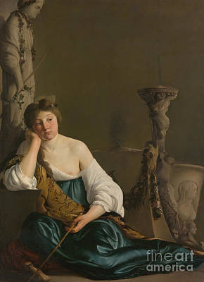 Painting - The Disillusioned Medea by Paulus Bor
