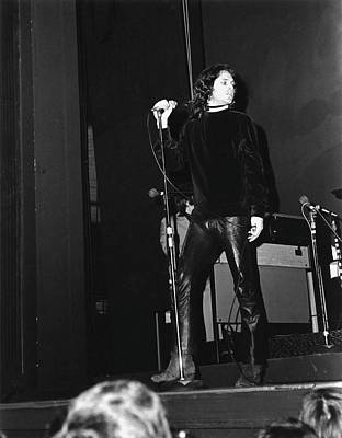Photograph - The Doors At The Fillmore East by Fred W. Mcdarrah