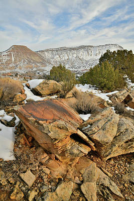 Photograph - The East Entrance To Colorado National Monument  by Ray Mathis