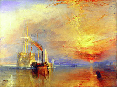 Painting - The Fighting Temeraire by William Turner