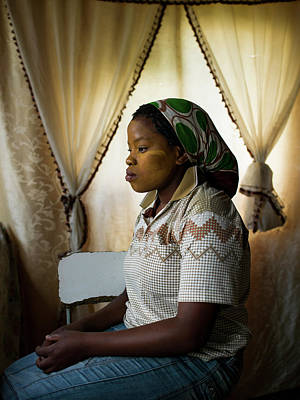 Photograph - The Funeral Of Former South African by Brent Stirton