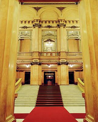 Photograph - The Interior Of Teatro Colon Opera by Joao Canziani