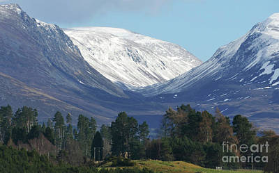 Photograph - The Lairig Ghru - Cairngorm Mountains by Phil Banks