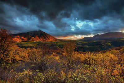 Photograph - The Last Light by John De Bord