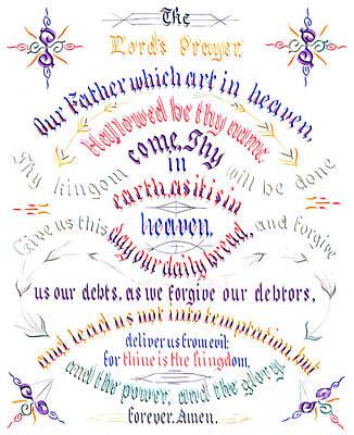 Drawing - The Lords Prayer, 1889 by John Morgan Coaley