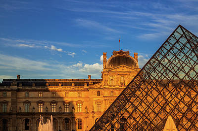 Royalty-Free and Rights-Managed Images - The Louvre by Andrew Soundarajan