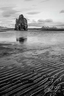 Wall Art - Photograph - The Majestic Hvitserkur Sea Stack by Sebastien Coell