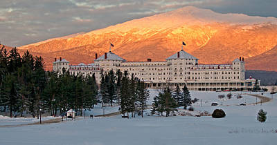 Photograph - The Mount Washington Hotel by Paul Mangold