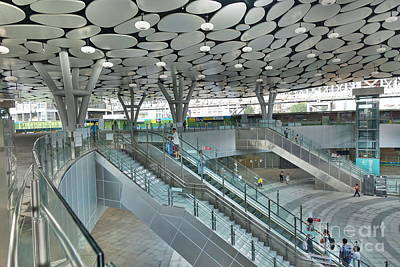 Photograph - The New Kaohsiung Main Station by Yali Shi