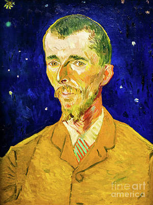 Painting - The Poet Eugene Boch by Vincent Van Gogh