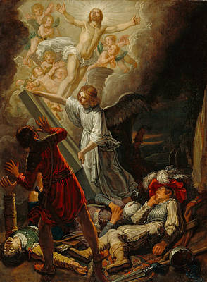 Painting - The Resurrection by Pieter Lastman