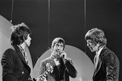 Photograph - The Rolling Stones by Larry Ellis