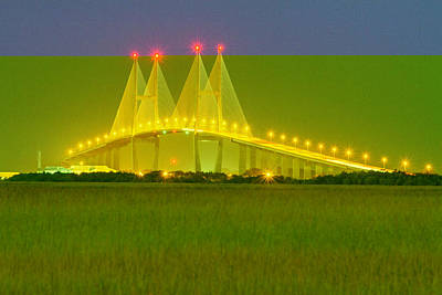 Photograph - The Sidney Lanier Bridge 1 by Al Hann