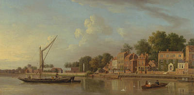 Painting - The Thames At Twickenham by Samuel Scott