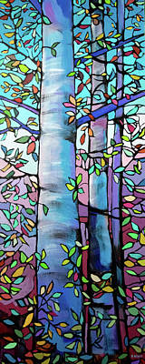 Wall Art - Painting - The Tree by Alison Newth