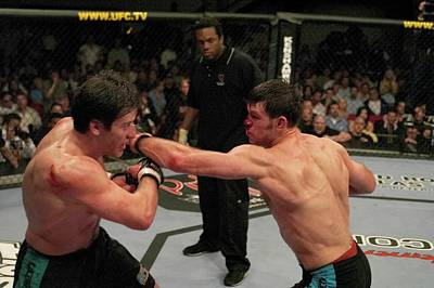 Photograph - The Ultimate Fighter 1 Finale Griffin V by Josh Hedges/zuffa Llc