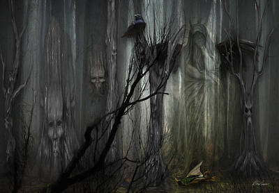 Photograph - The Weeping Of Trees by Diana Haronis