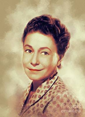 Lake Life - Thelma Ritter, Vintage Actress by Esoterica Art Agency