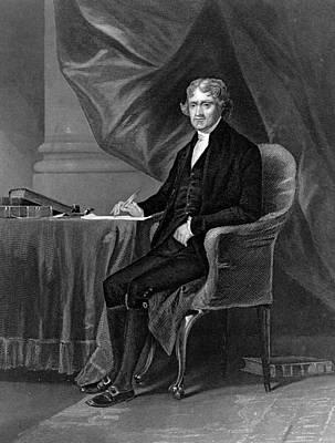 Thomas Jefferson Art Print by Hulton Archive