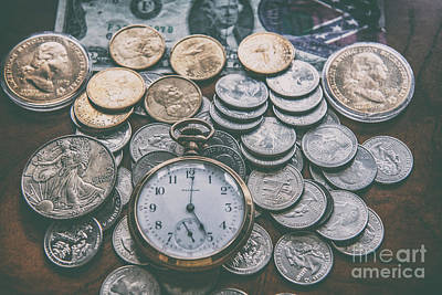 Photograph - Time And Money by Dale Powell