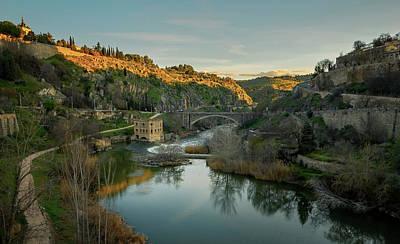 Wall Art - Photograph - Toledo Spain Dusk II by Joan Carroll