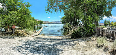 Photograph - Topaz Landing Boat Launch by Joe Lach