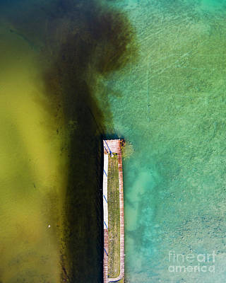 Royalty-Free and Rights-Managed Images - Torch Lake Aerial by Twenty Two North Photography