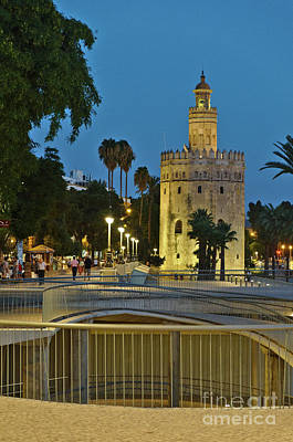 Photograph - Torre Del Oro by Angelo DeVal