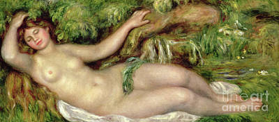 Painting - Torso, Or Before The Bath by Pierre Auguste Renoir