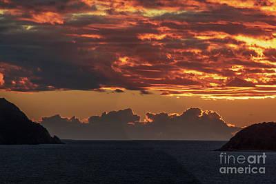 Photograph - Tortolla Sunrise by Thomas Marchessault