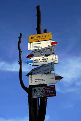 Photograph - Trail Markers by Joanna Machel