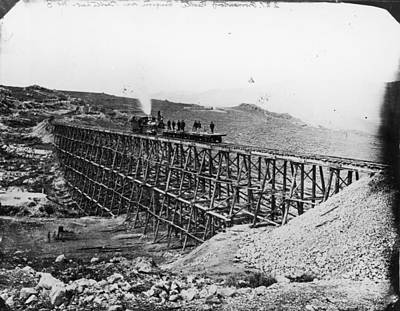 Transcontinental Railroad Art Print by Fotosearch