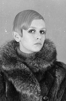 Photograph - Twiggy In Fur by Potter