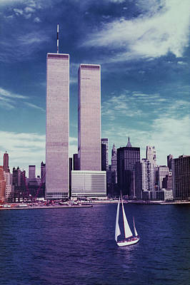 Photograph - Twin Towers Remembered Wtc by Laura Fasulo
