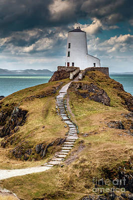 Photograph - Twr Mawr Lighthouse  by Adrian Evans