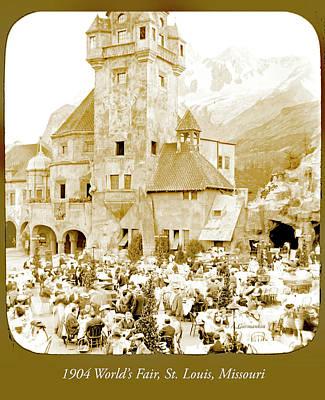 Photograph - Tyrolean Apls Palace, 1904 World's Fair by A Gurmankin
