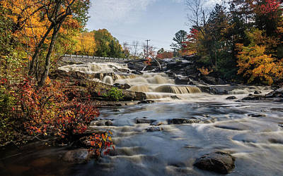Wall Art - Photograph - Upper Rosseau Falls by Andrew Wilson