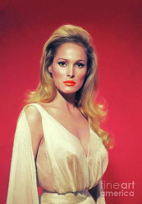Royalty-Free and Rights-Managed Images - Ursula Andress, Actress by Esoterica Art Agency