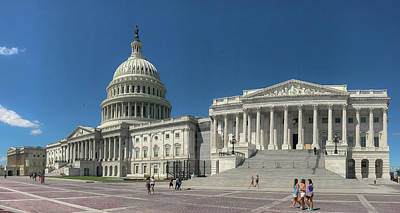 Photograph - United States Capitol  by Lora J Wilson