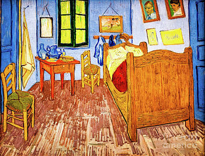 Van Gogh's Bedroom Art Print