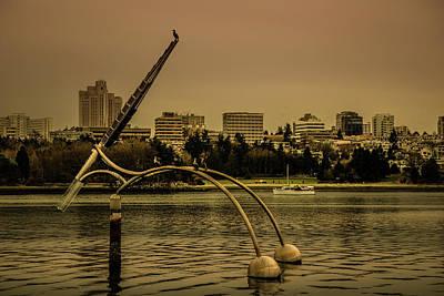 Photograph - Vancouver Public Art by Juan Contreras