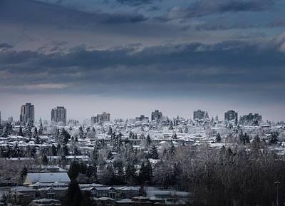 Photograph - Vancouver Winter No. 4 by Juan Contreras