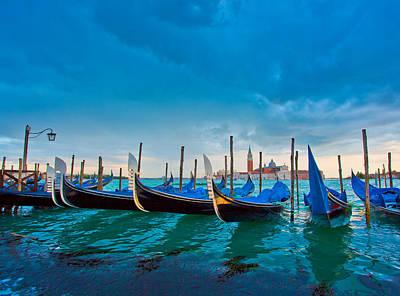 Photograph - Venice, Gondola by Albert Photo